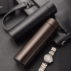 500ml luxury vacuum New style 500ML double walled stainless steel water bottle vacuum thermos