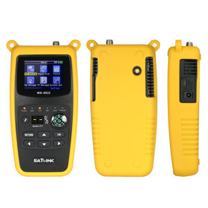 Asli Satlink WS-6933 DVB-S2 FTA C dan KU Band WS6933 Satlink 6933 Satelit Finder Meter SATLINK WS-6933