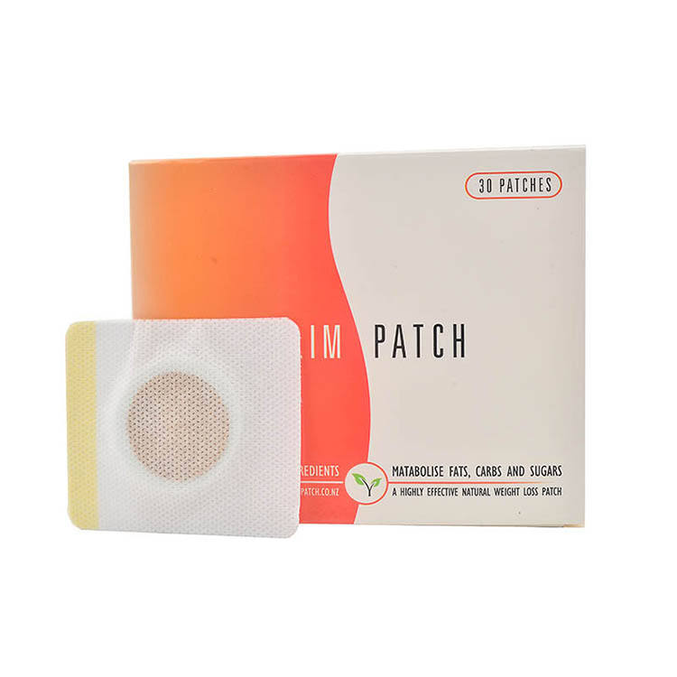 Magnet Fat Burning Weight Loss Navel 30pcs Slimming Patch Belly Slim Patch For fat Abdomen