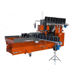 Automatic Divide Soil Potting Machines Agriculture Horticulture Greenhouse Planting Nursery Vegetables Pot Filling Machinery