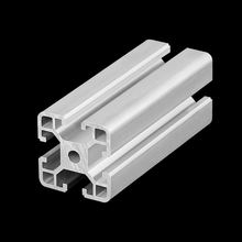 6063 T5 4040 industrial aluminio for work table frame materia, 40x40 l slot t track aluminium extrusion  profile