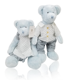 Sunking a clearance sale lovers blue bear with 100%cotton clothes Valentine's Day gift plush toys