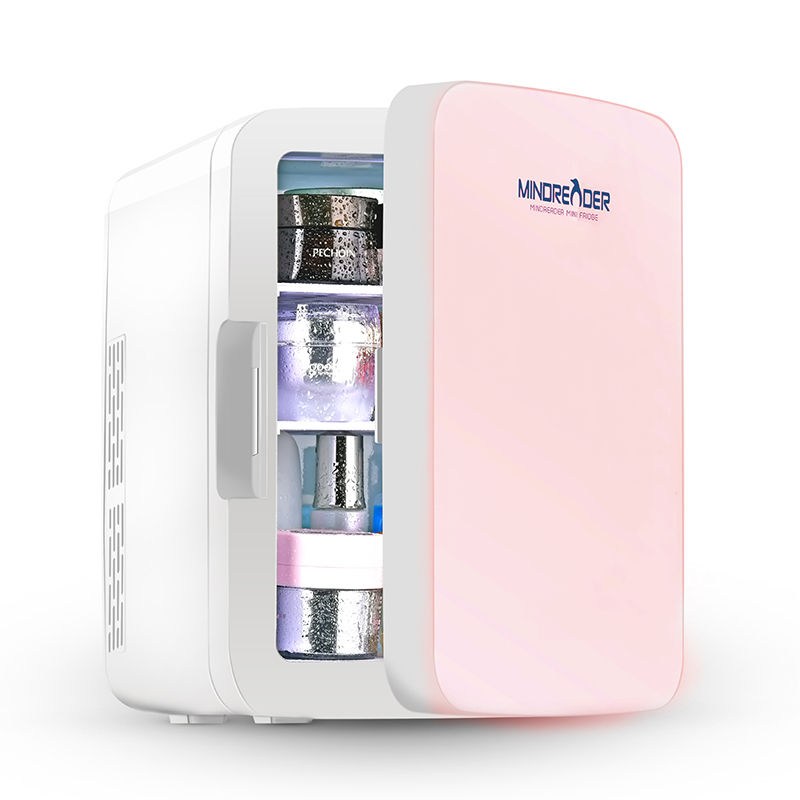 Portable Beauty Fridge 10l Or 12 Can With Heat And Cool Skincare Fridge Mini