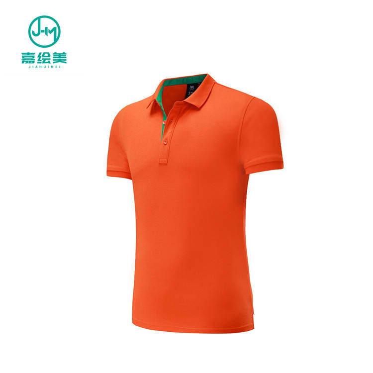 JHM J7517 Fashion Casual Slim Fit Mens Short Sleeve Polo T Shirts Cheap Polo Men