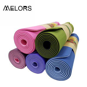 Melors Custom yoga mats TPE ECO Friendly Exercise Mat Yoga Mat fitness manufacturer