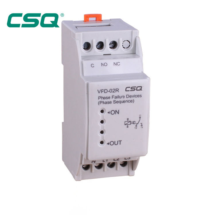 VPD-02R PHASE CONTROL RELAY for PHASE FAILURE & PHASE SEQUENCE