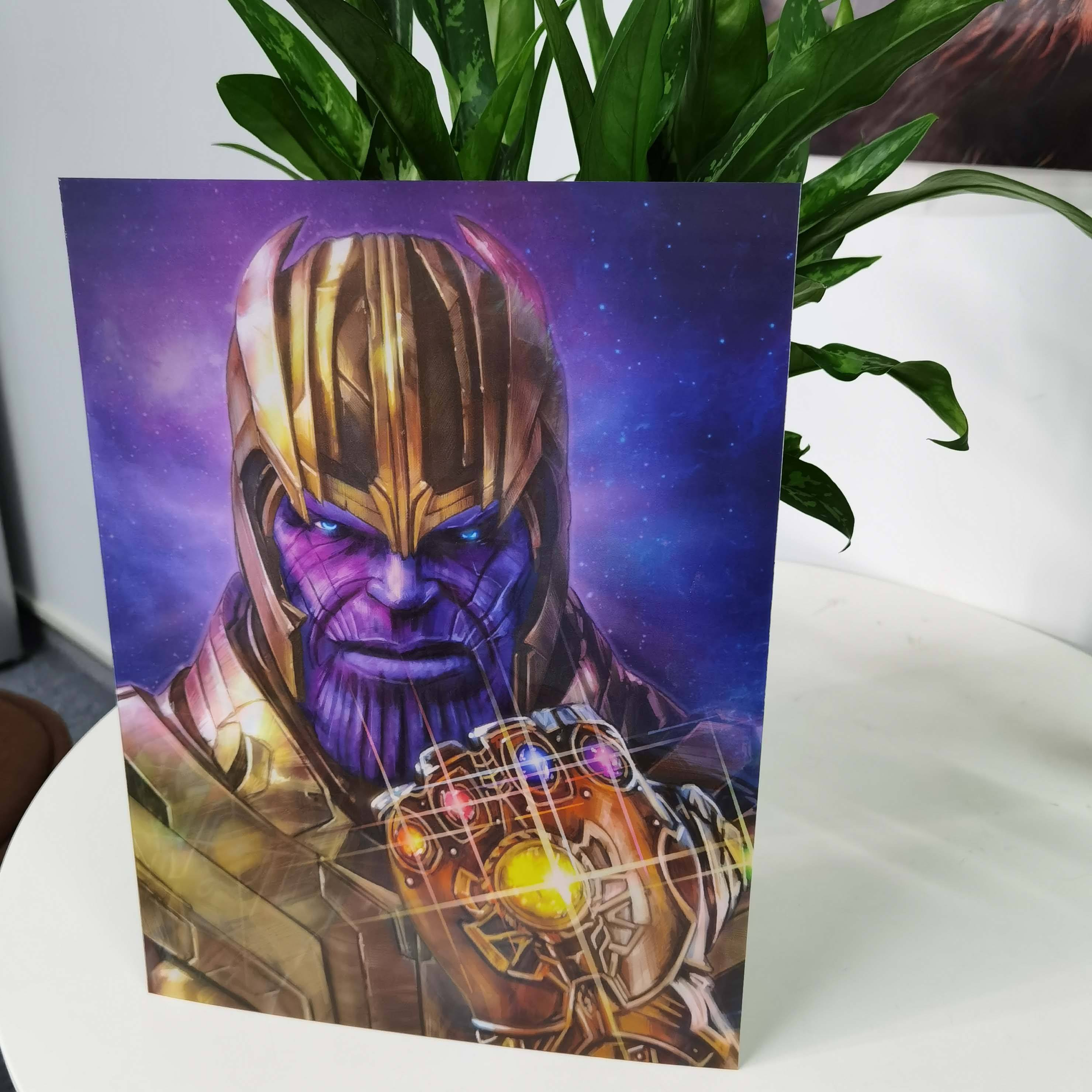 Personalize 3d effect lenticular movie posters