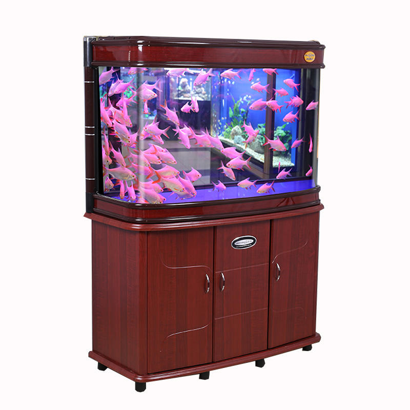 Classic curved glass Fish Tank Aquarium