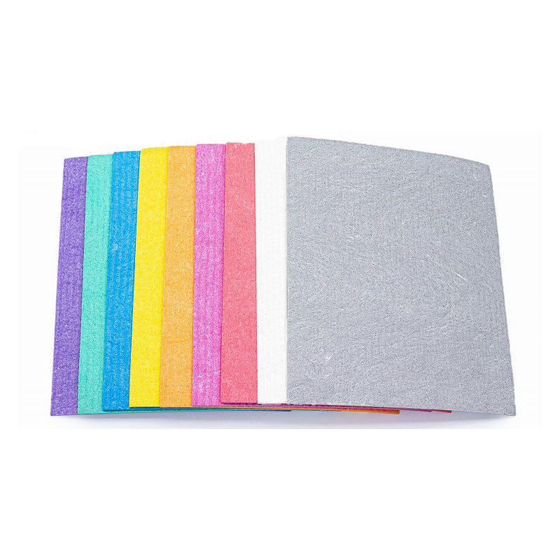 Eco-Friendly material biodegradable cellulose dishcloth white Swedish dishcloth for kitchen