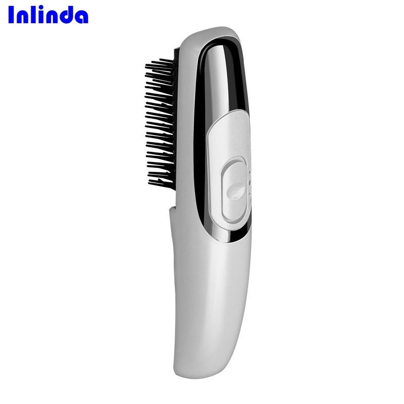 On the Market 2019 Best Hair Loss Treatment Electric Vibrating Mini infrared Massage hair comb
