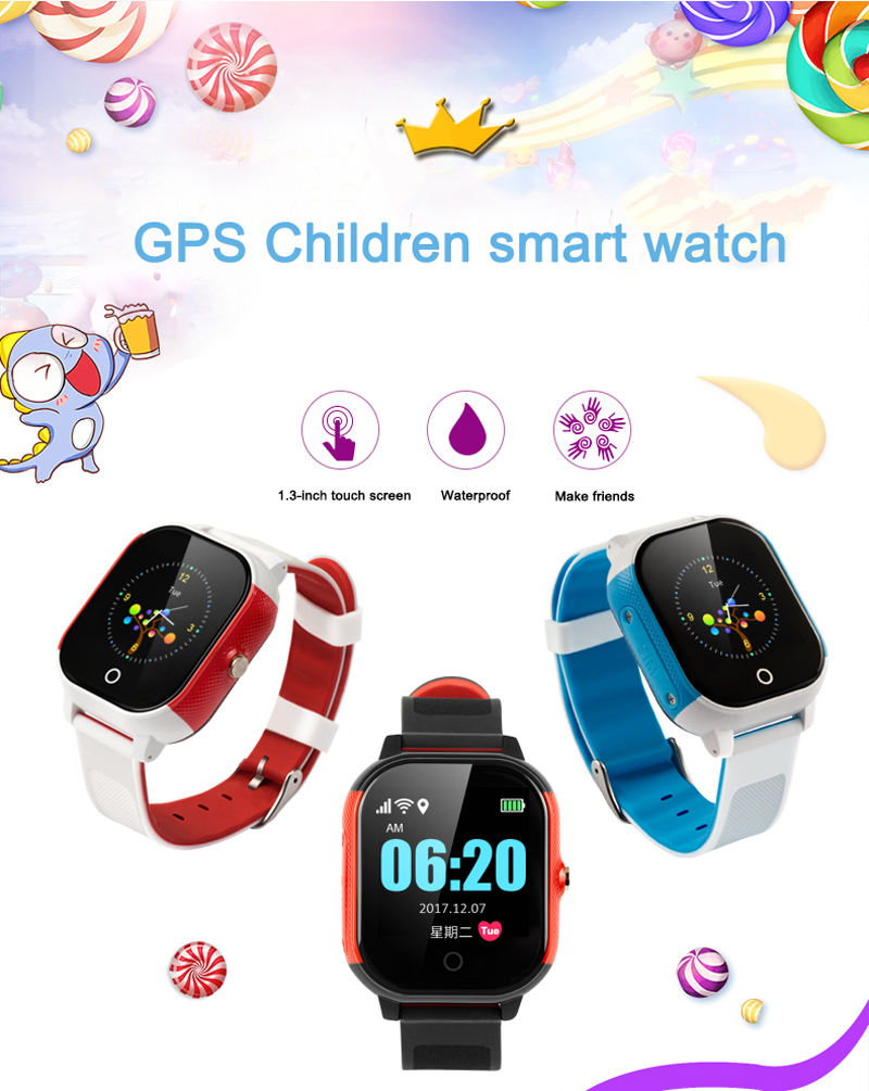 FA23 Favorable Price kids watch with gps tracker a cheap IP67