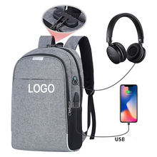 Factory hot multifunctional anti theft USB charing backpack notebook laptop bagpack
