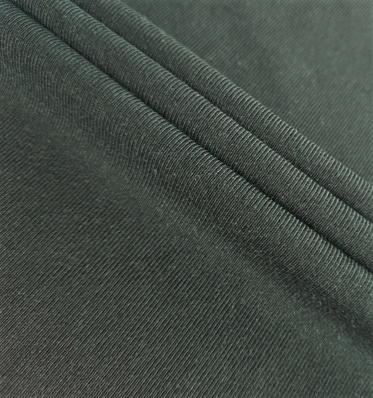 84%Micro Modal 16%Spandex 175CM 160GSM Good Stretch Soft Hand Feeling 1*1 Rib Fabric