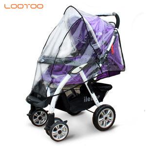 Cubierta de plástico transparentecochecito de bebé cubierta de la lluviacochecito de bebé de la cubierta