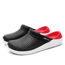 2020 Men's Slip-on Shoes Slippers Female Male Croc Clogs Crocks Crocse Water Mules Women's Summer Sandals for Beach Sports