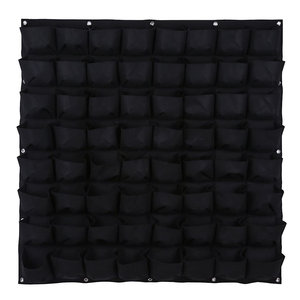 64 Pockets Wall Hanging Vertical Garden planter grow bags