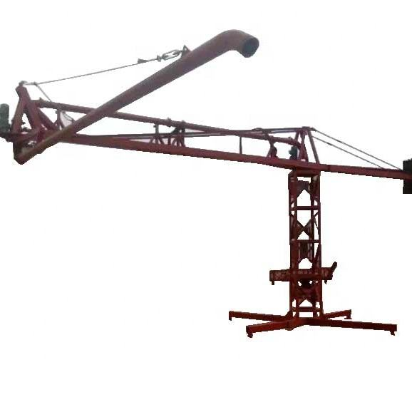 Electrical placing boom