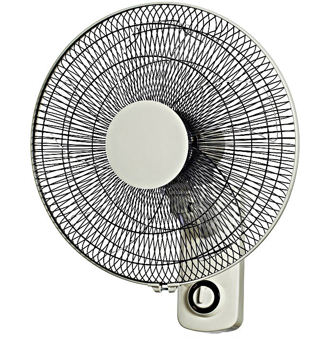 Salable high quality plastic metal material electric wall fan powerful airflow electrical wall mounted oscillation fan for home