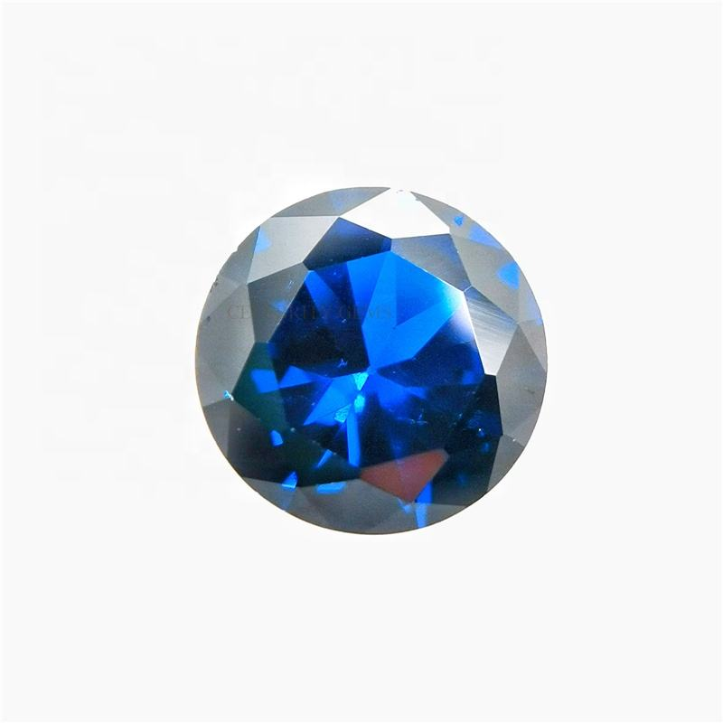 Good Polished Synthetic Gemstone with AAA Grade Round Brilliant Cut Loose 113# Spinel for Jewelry Making