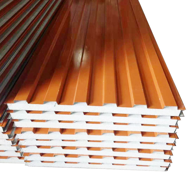 Galvanzied Steel [ Steel Panel Roof ] Spain Color Steel Insulated EPS Sandwich Panel For Roof And Wall