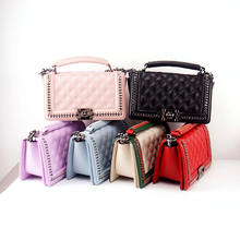 2020  hot selling crossbody bag  pu leather purses  crossbody bag designer handbags famous brands pu candy bag