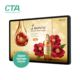 Hot selling 21.5 inch wall mounted lcd media advertising equipment display