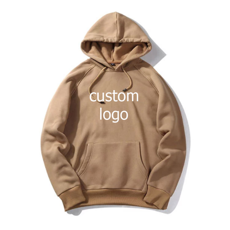 OEM mens Hoodie Sweatshirt 100% Cotton Long Sleeve custom Printed logo oversize Pullover hoodies