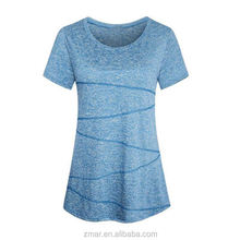 Drop Shoulder Women's Pure Color Fashion Design T-shirt Casual Dress Tops