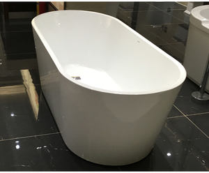 Amazon hot selling CE massage bathtub acrylic freestanding bathtub