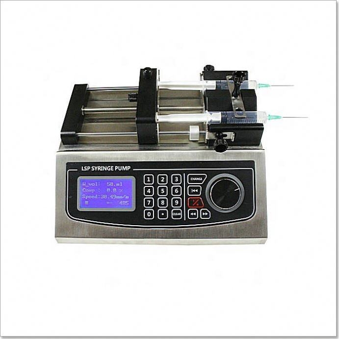 China Factory Split Style Cosmetics Syringe Dosing Peristaltic Pump