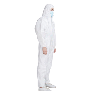 SF 55gsm protection paint spray suit coverall overall work suit coverall disposable coverall safety