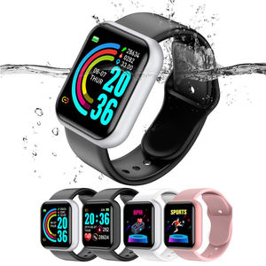 2020 cheap price hot sell smartwatch square smart watch Y68 smart bracelet with heart rate sensor support FITPRO APP