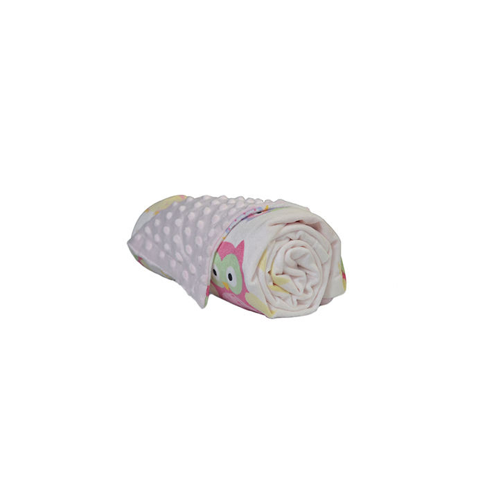 JHome OEM/ODM Swaddling Swaddle 핑크 <span class=keywords><strong>Minky</strong></span> 도트 아기 <span class=keywords><strong>담요</strong></span>