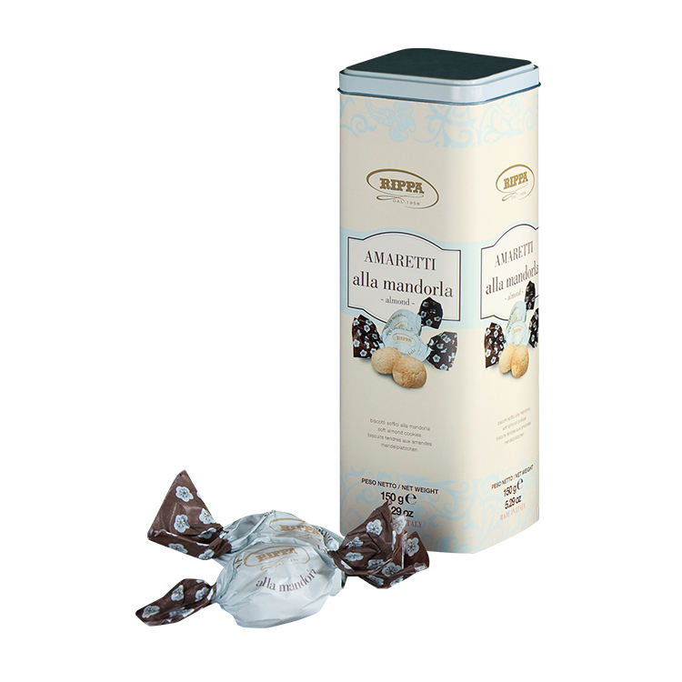 Italian High Quality sweet almond cookies box packaging