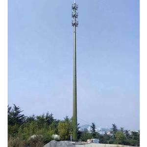Platform-Type Monopole Communication Single Pipe Tower