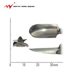 Titanium alloy MIM propeller marine engine spare equipment parts