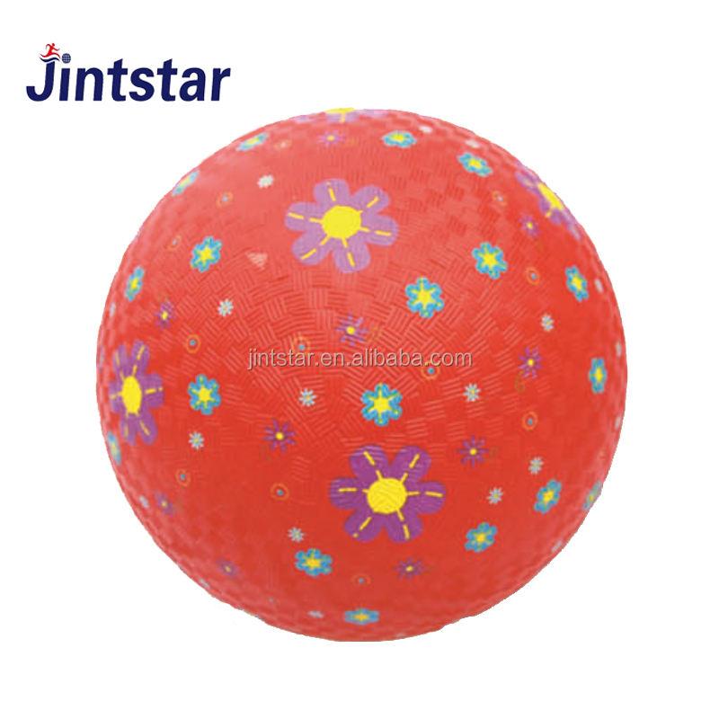 Professionnel soft touch haute gonflable balle de terrain de jeu en <span class=keywords><strong>caoutchouc</strong></span> pour enfants avec qualité