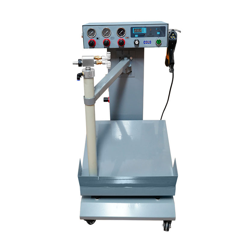 Easy Operate Manual Powder Painting Machine For Car Wheel,Furniture