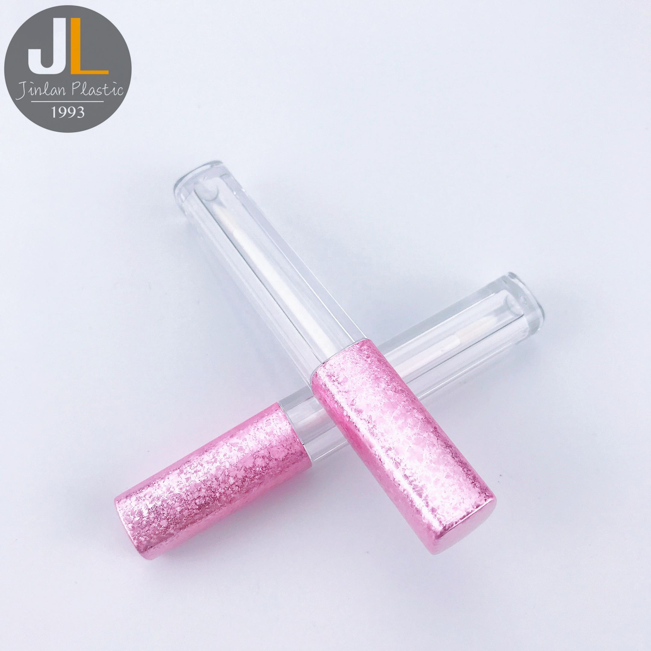 [3.2ml] Hot Sale Low MOQ Square Pink Color Lip Gloss Tube
