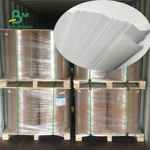 Non Tossico Eco-Friendly 250gsm 300gsm Poli Bianco Marrone di Carta Kraft Food Grade