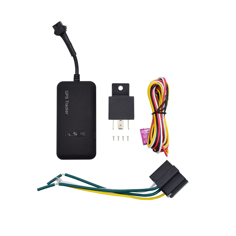 Gprs/Gsm Mini Car Motorcycle Bike Navigation Agps Function Real-Time Tracking Movement Alarm Standard + Relay Gps Tracker