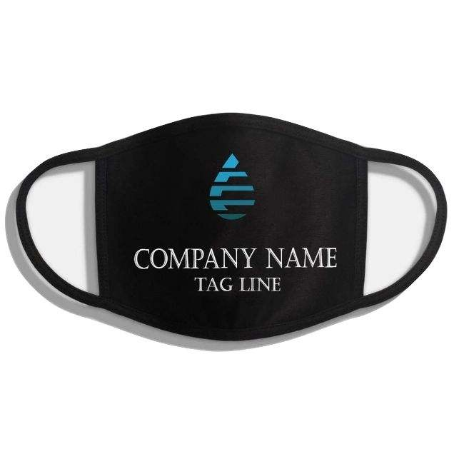 USBD Premium 100% Cotton Made 3 Layers Face Cover MouthMask Free Shipping to USA Custom Design design your own face cover