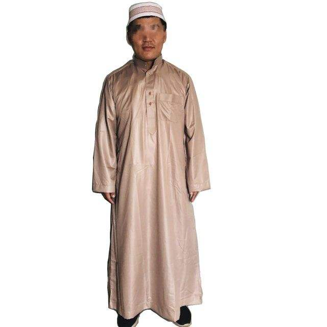Men Arabic Robe Middle East Men Thobe Islamic Clothing