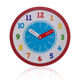 Clocks Clock RCWA00102 Customized Sweep Movement Kids Learning Clocks Educational Plastic Wall Clock