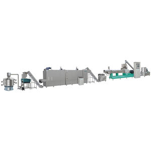 Fully automatic bread crumbs production line making machine