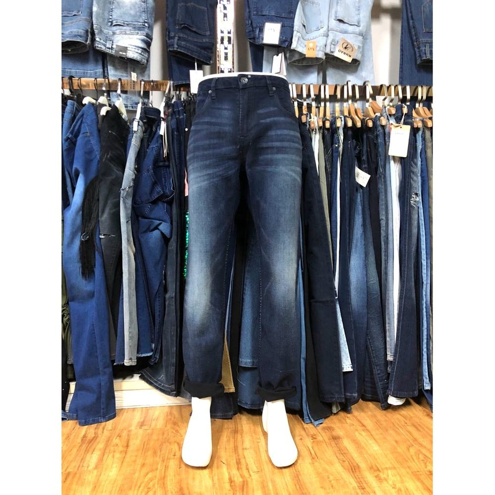 GZY Jeans wholesale direct factory price stock lots jeans men fashion classic blue skinny demin jean pants for men