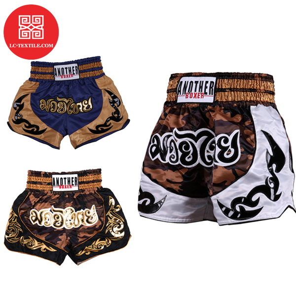 china supplier 2020 new design camouflage muay thai ufc mma custom kick boxing shorts