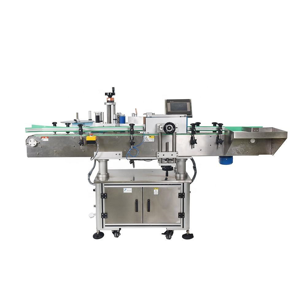 NY-822A Food Bottle Labeling Machine For Soy/Tomato Paste/Detergent/Soft Drink
