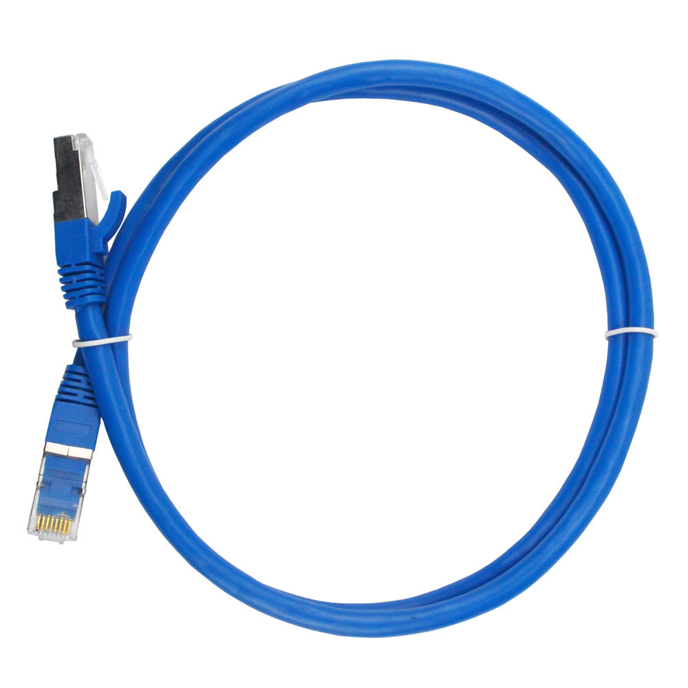 HT 100% Tembaga 15 M 26AWG RJ45 Connecter 4 Pasang SFTP Cat 6A Ethernet Kabel