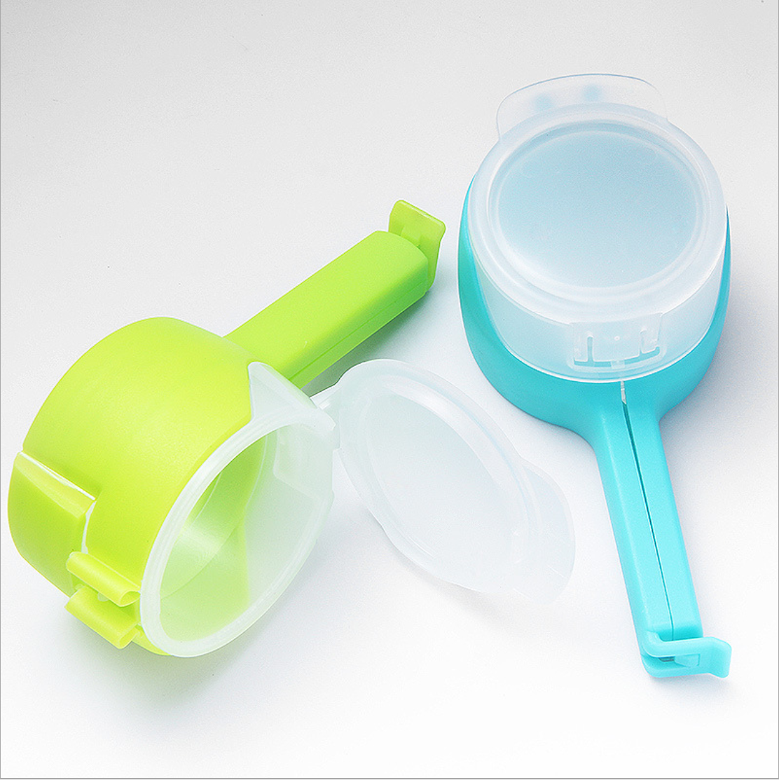 Toprank Kitchenware Food Bread Plastic Bag Closure Clip Food Bag Seal Clip Snack Clip With Pour Spout